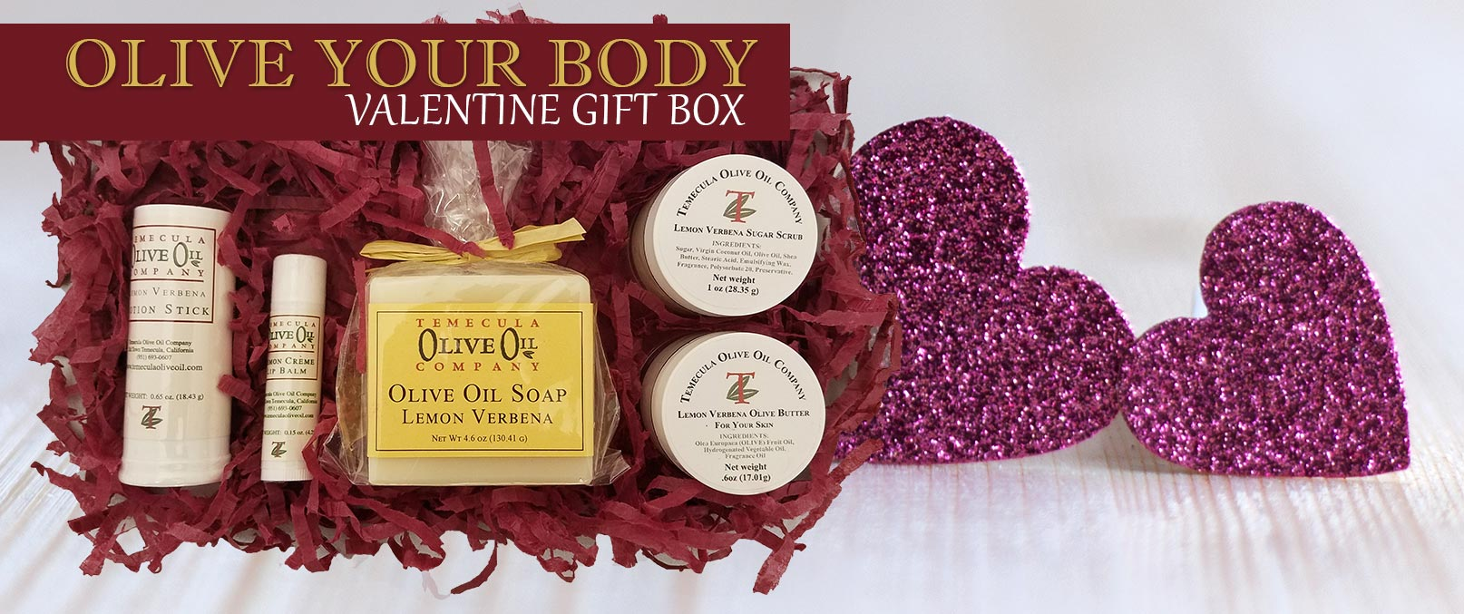 Olive Your Body Valentine Gift Sets