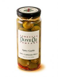 Olives - Spicy Garlic