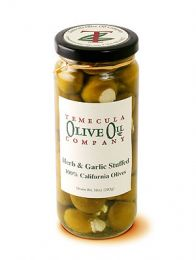Olives - Herb & Garlic Stuffed
