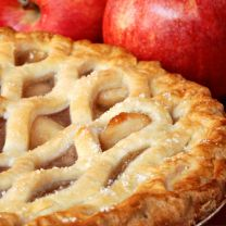 Apple Pie Made With TOOC Olive Oil Crust