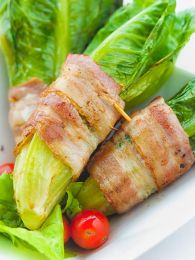 Baked Pancetta-Wrapped Endive