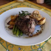 D'Luscious Lemon Lamb Dinner