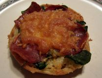 Picante English Muffin Pizza