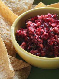 Festive Cranberry Salsa