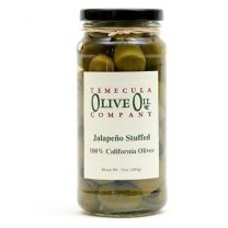 Jalapeño Stuffed Olives