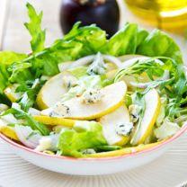 Pear & Bleu Cheese Salad