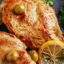 Chicken Breast in a Lemon Herb Sauce