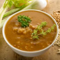 Truffle Barley Soup